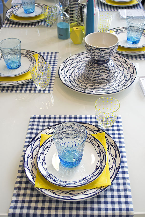 Heal's Coastal Table Setting