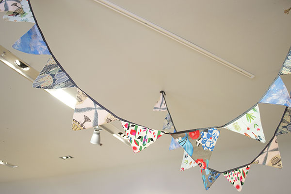 Heals 1810 Fabric Bunting