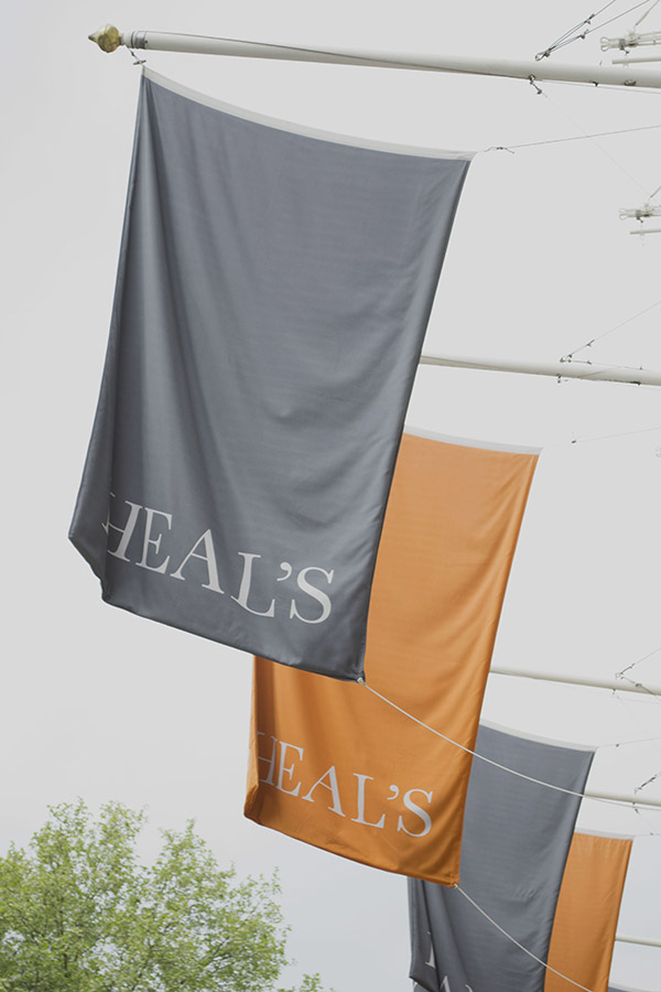 Heal's Flags