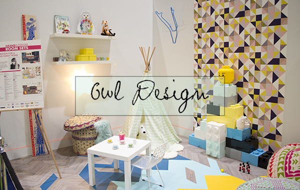 Owl Design Kids Room