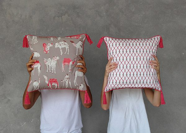 Safomasi Different Different Camels cushions