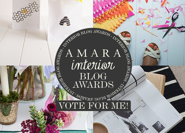 Interior Blog Awards Curate and Display Vote