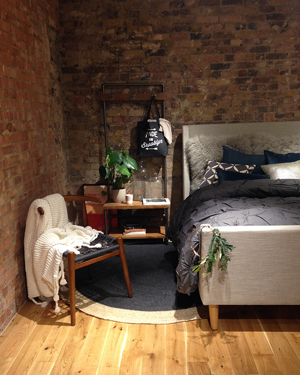 West Elm London Styled Bedroom Tiffany Grant-Riley Curate & Display
