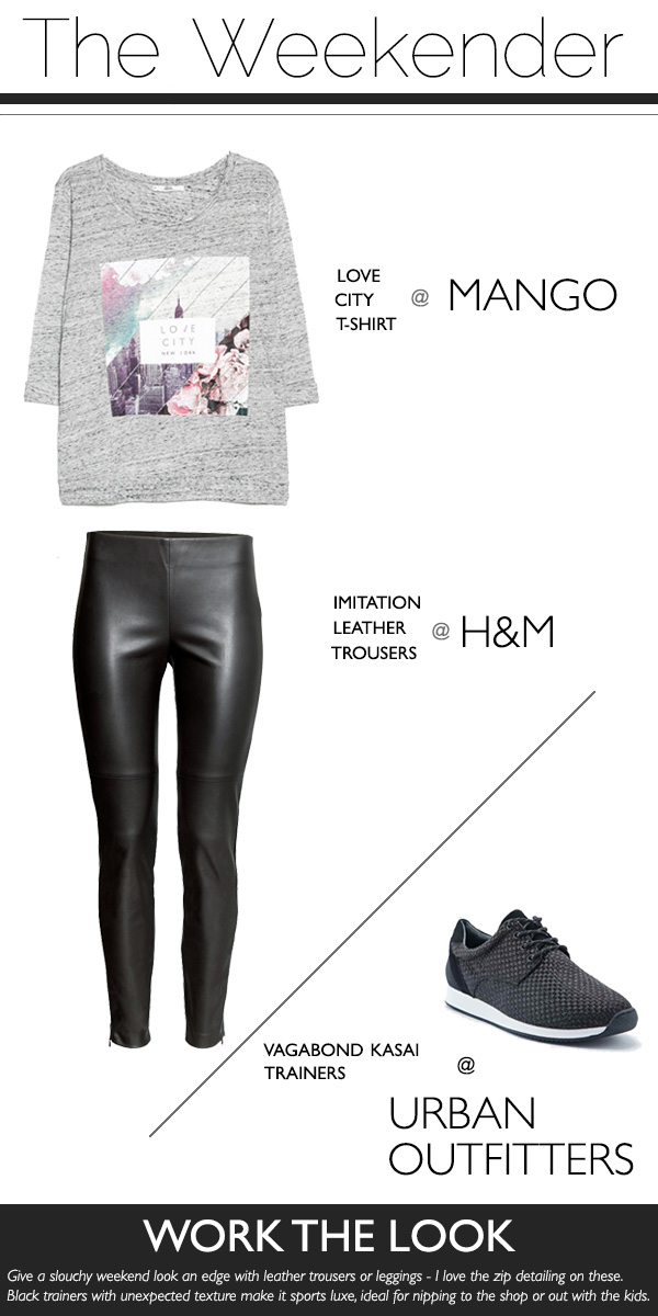 How To Style Leather Trousers For An Every Day Look