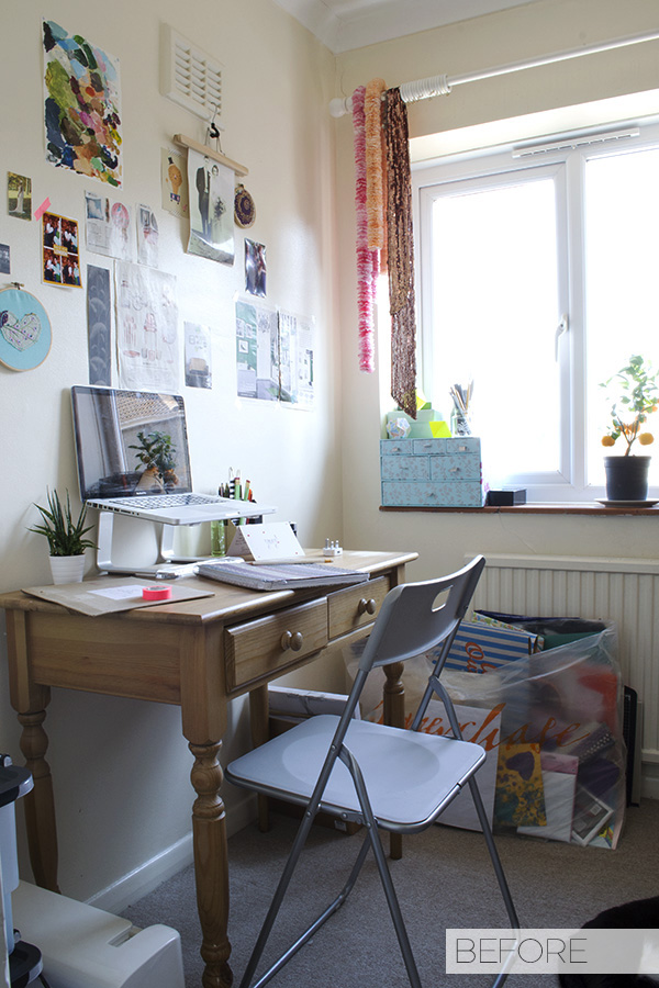 Office Workspace Makeover Before Curate and Display Blog1