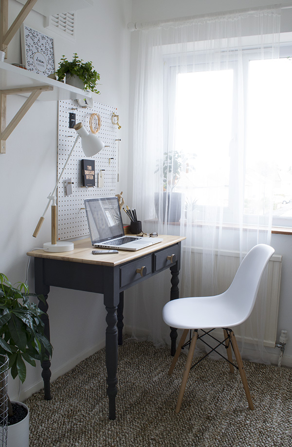 Office Workspace Makeover Curate and Display Blog1