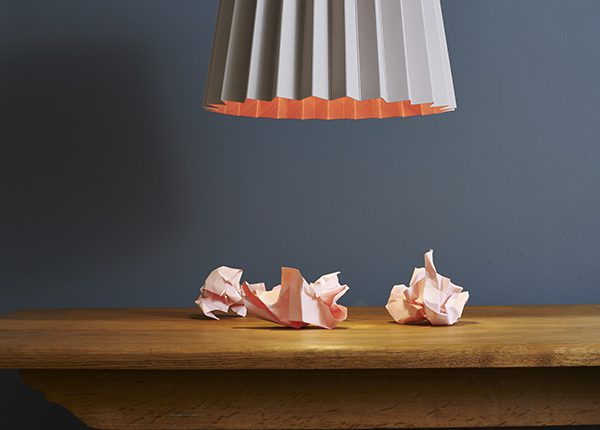 Lane Little Greene Twin Tone Lampshade Light Peachblossom and Carmine Curate and Display Blog Giveaway