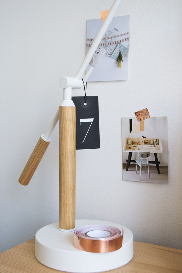 MADE.COM-Workspace-Tour-CurateandDisplayBlog White and Oak Cohen Table Desk Lamp