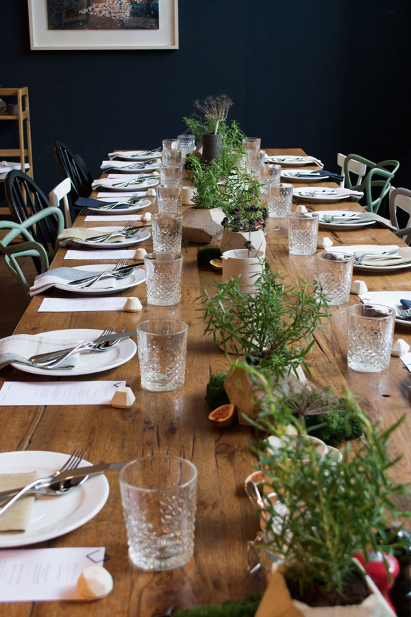 Function+Form Design Gatherings Heal's Forge & Co Table Styling
