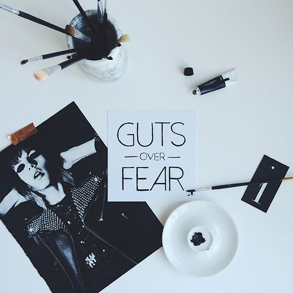 Guts Over Fear Curate & Display Instagram