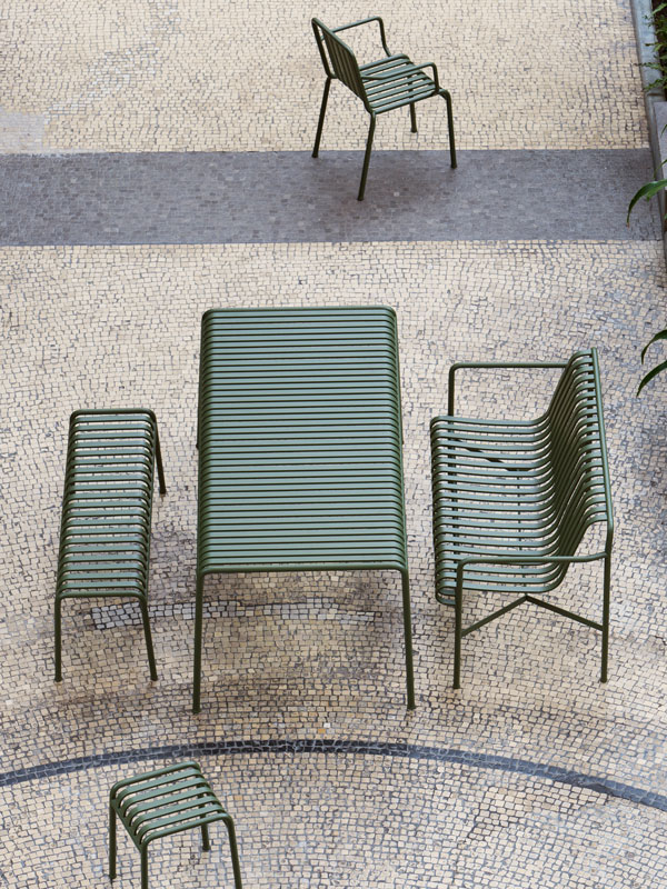 HAY Palissade Garden Collection, Ronan and Erwan Bouroullec