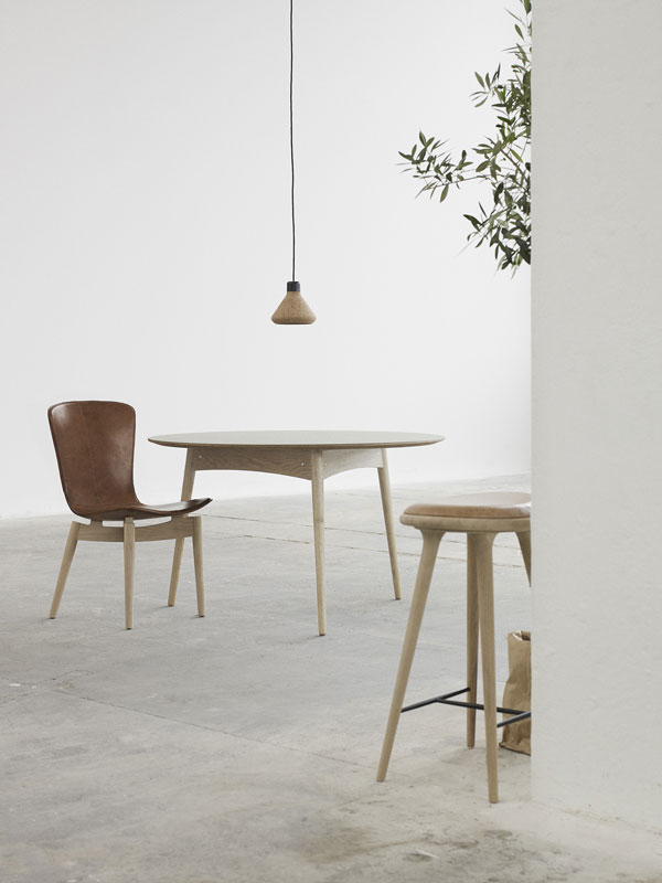 Mater Design, Danish ethical furniture, dining room, high stool