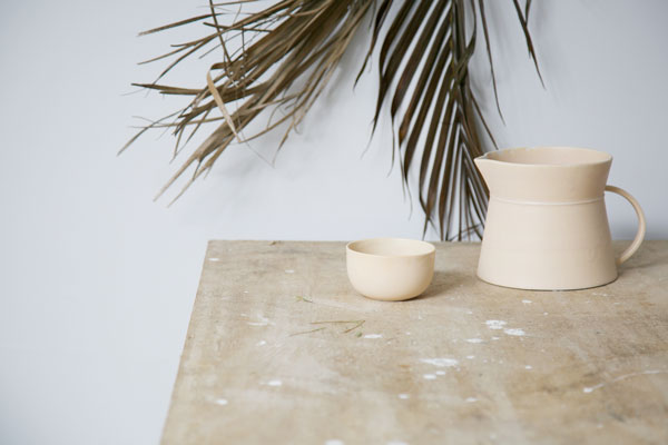Lena tableware collection designed by Caroline Gomez