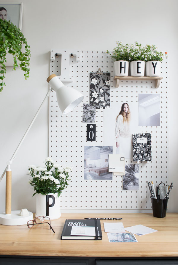Design Letters & Friends Arne Jacobsen typography collection summer office workspace styling