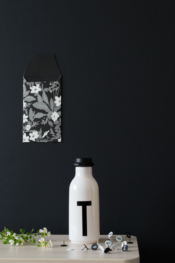 Design Letters And Friends Arne Jacobsen Typography Water Bottle Summer Workspace