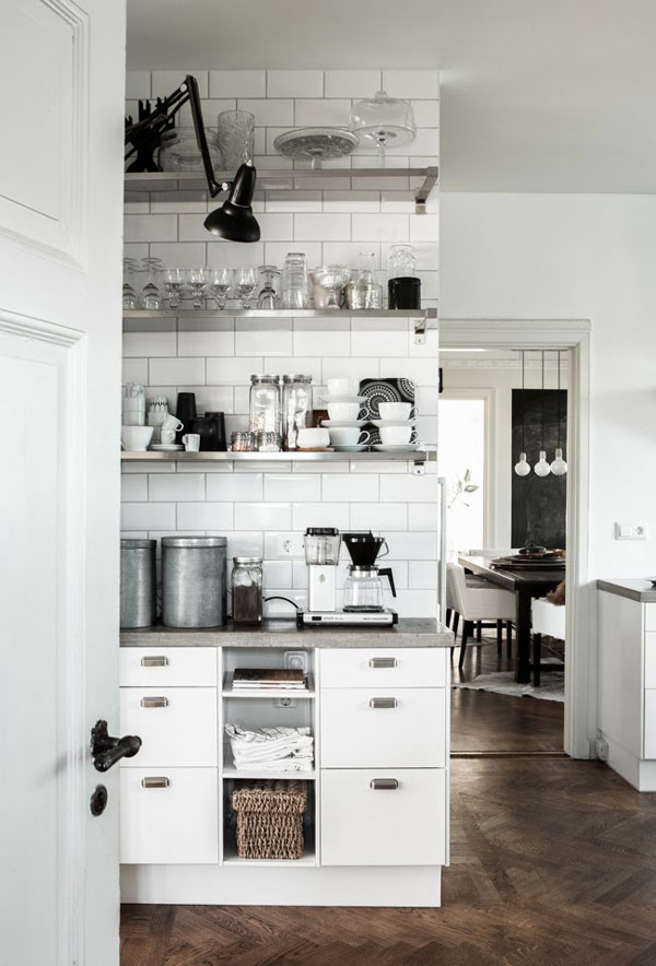 Inside the kitchen of interior stylist Daniella Witte