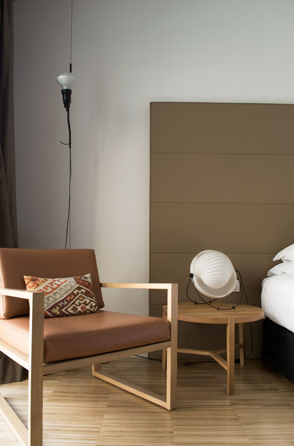 Superior room inside the Alexandra Doubletree Hilton hotel in the Eixample district of Barcelona