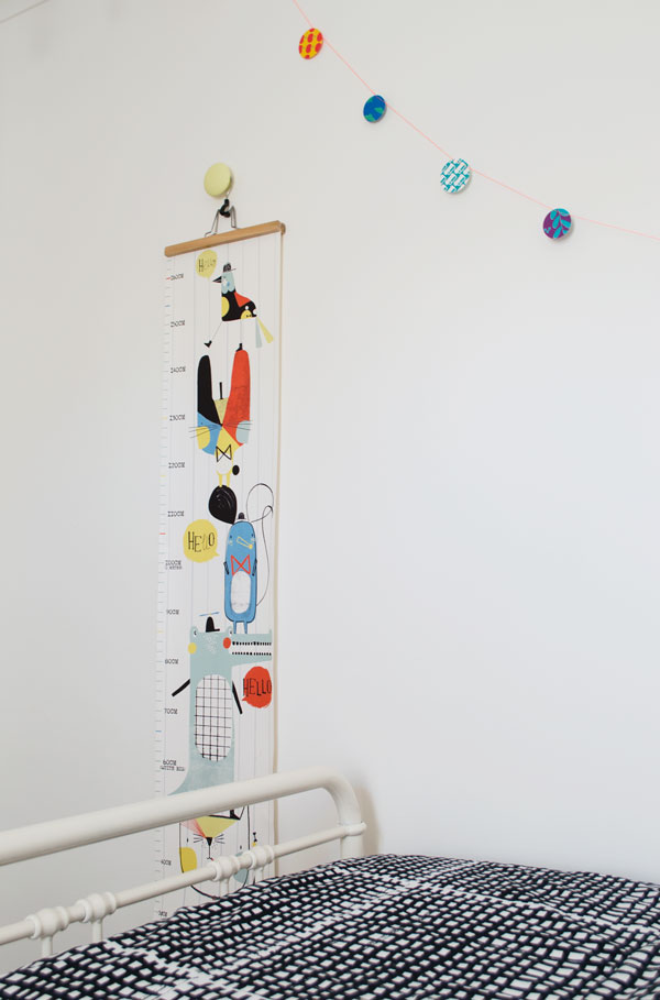 Bright Renter Friendly Kids Decor Corby Tindersticks Wall Chart Bedroom Styling