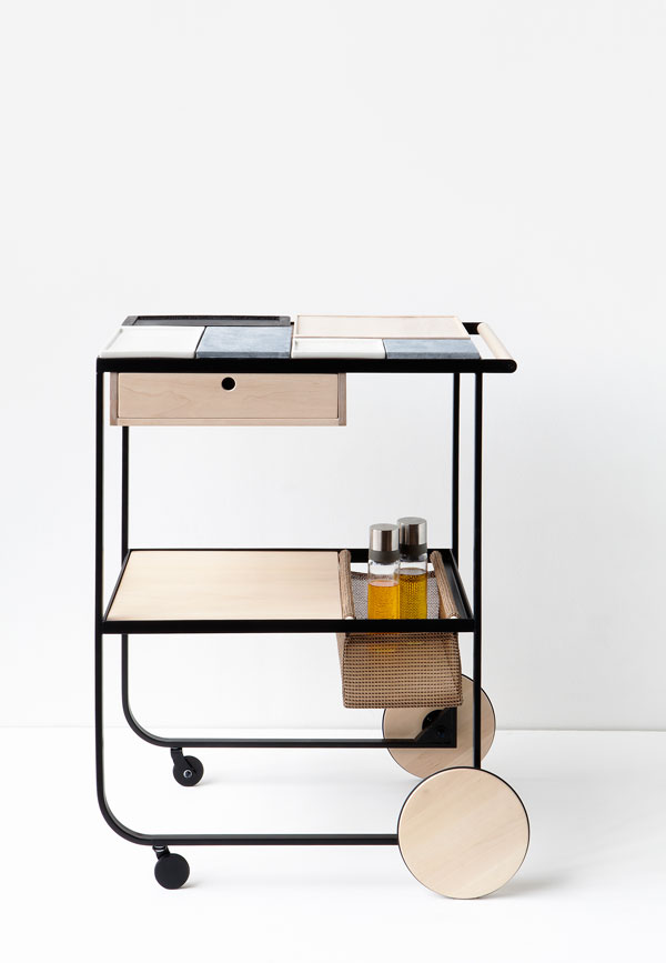 Palat serving trolley designed by Maiju Uski, highlights from the London Design Festival 2016