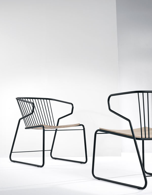 Universo Positivo, Belgian design furniture brand and the Gabbia Chair