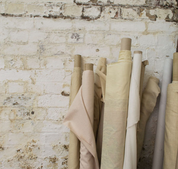 Handprinted textile studio Marina Mill based in Kent