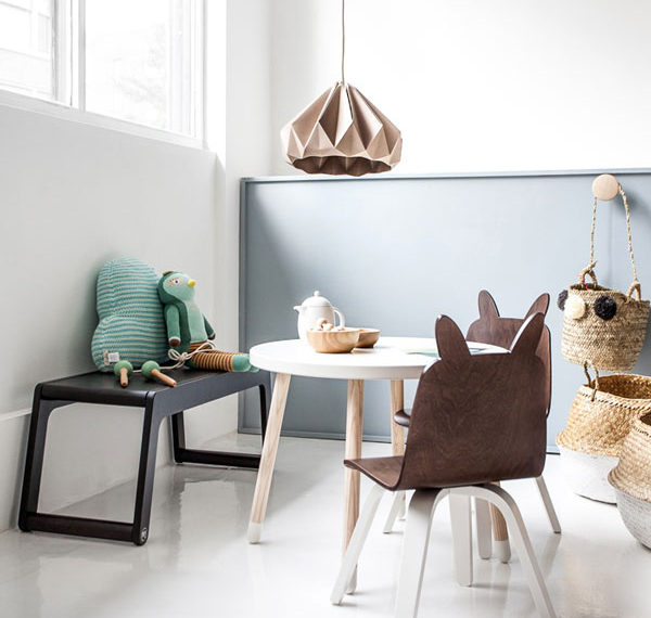 grey blue kids room inspiration