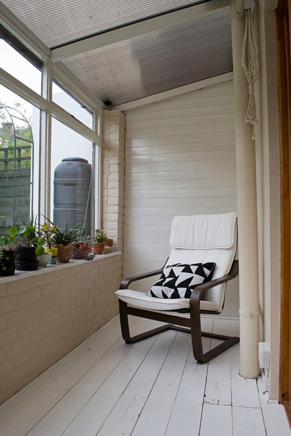 Scandinavian sunroom makeover before, garden room, conservatory