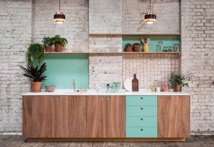 Pluck, bespoke kitchen design made in Brixton, London